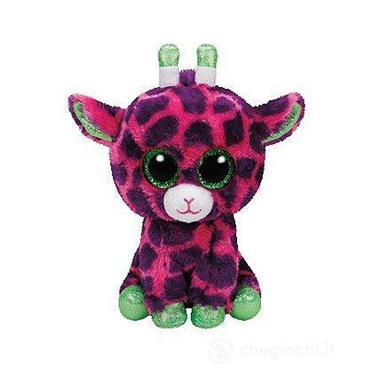 Peluche Gilbert - Giraffa Pink/Lila 15 cm Beanie Boo (37220)