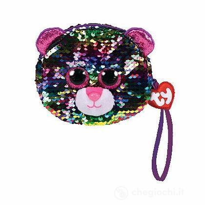 Portamonete Leopardo Glitter (T95223)