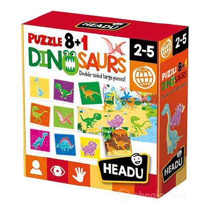 Puzzle 8+1 Dinosaurs (IT22243)