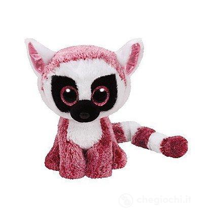 Peluche Leeann - Lemure Pink 15 cm Beanie Boo (37225)
