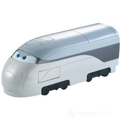 Cars 2 deluxe quick changers - Treno spia (X0622 )