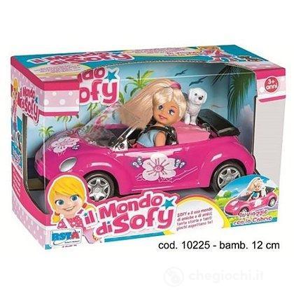 Auto Cabrio con Bambola + Cane (10225)