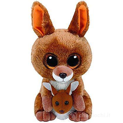 Peluche Kipper - Canguro 15 cm Beanie Boo (37226)