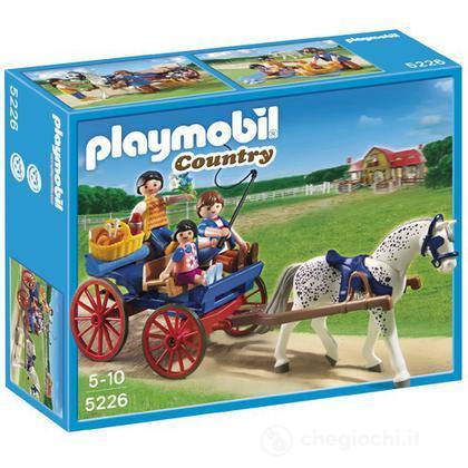 Calesse con cavallo (5226)