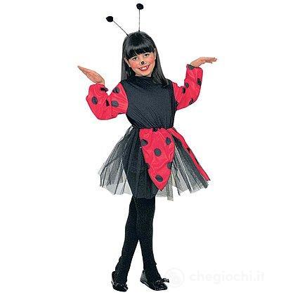 Costume Coccinella 5-7 anni