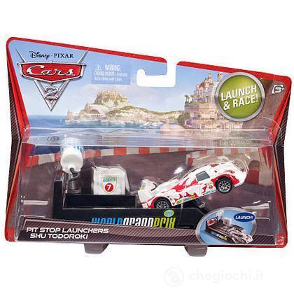 Cars 2 lanciatore pit stop - Shu Todoroki (V3663)