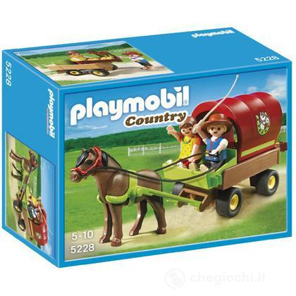 Carrozza con pony (5228)