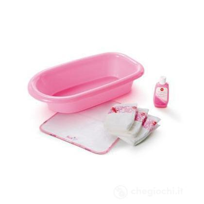 Set bagno con vaschetta