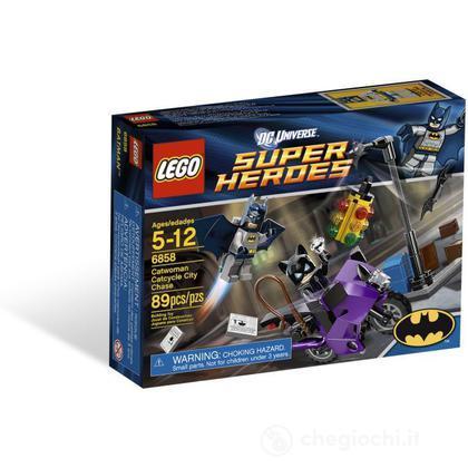 LEGO Super Heroes - L'inseguimento di Catwoman (6858)