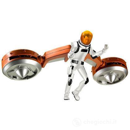 Generator Rex personaggio con veicolo - Twin Blaster Boogie (  T7777)