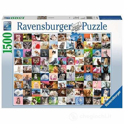 Puzzle 1500pz 99 Gatti (16235)
