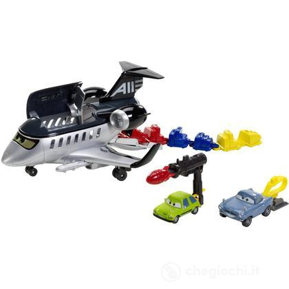 Cars 2 playset Jet spia grande fuga (W7138)