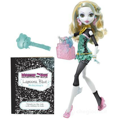 Monster High Doll - Lagoona Blue 2011 (W2822)