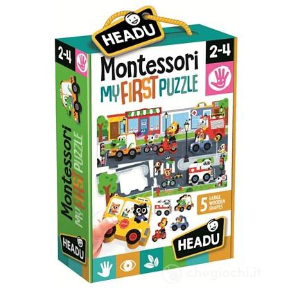 Montessori First Puzzle The City (IT22373)
