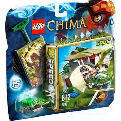 Il morso del coccodrillo - Lego Legends of Chima (70112)