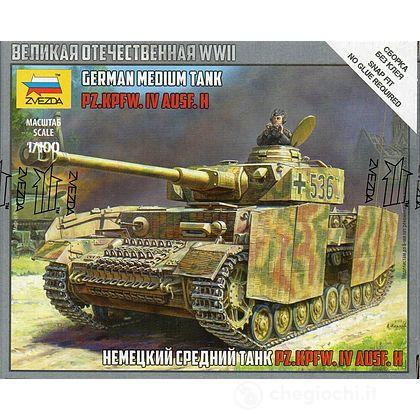 Carro Armato Panzer IV Ausf.H Scala 1/100 (ZS6240)