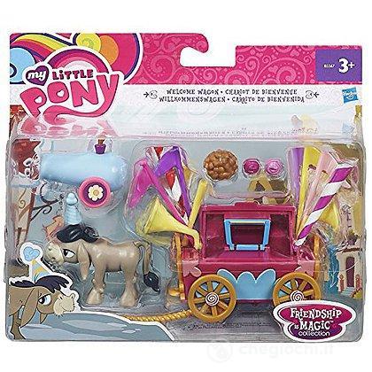 My Little Pony Personaggio Mini con Playset Modelli Assortiti (B3597Eu4)