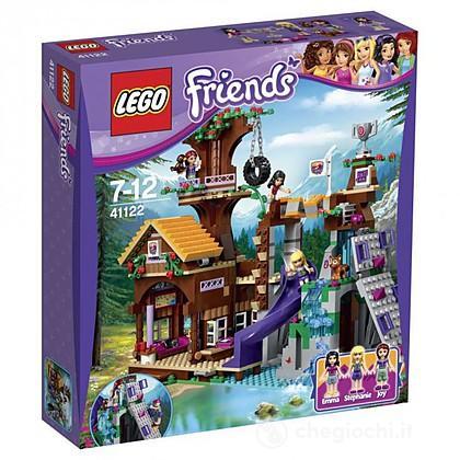 La casa sull'albero al campo avventure - Lego Friends (41122)