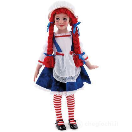 Costume bambola di pezza taglia 92-104 cm 1 - 2 anni (885624)