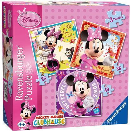 Puzzle 25-36-49 Minnie Mouse (07244)