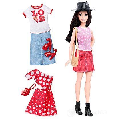 Barbie  Fashionista e Moda - Love Pizza ((DTD03)