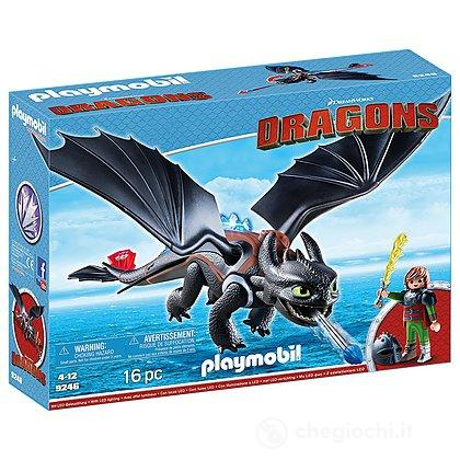 Hiccup e Sdentato Dragon Trainer (9246)