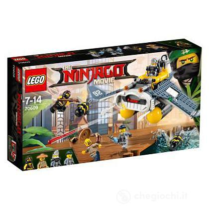 Manta Ray Bomber - Lego Ninjago movie (70609)