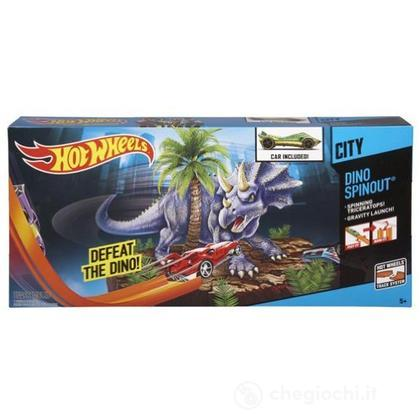 Dino Spinout – Piste Hot Wheels (BGJ00)