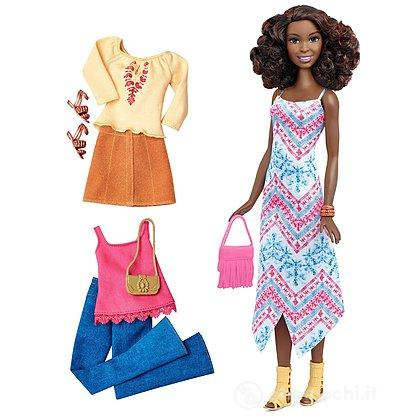 Barbie  Fashionista e Moda - Ethnic (DTD08)