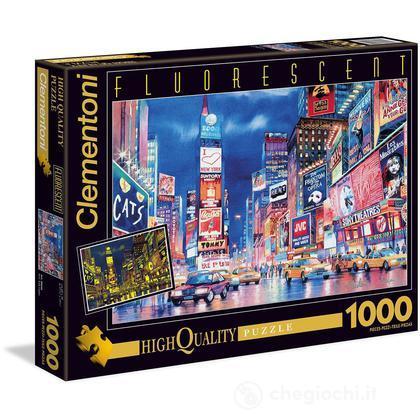 Puzzle Fluorescente New York Lights, 1000 pezzi (39249)