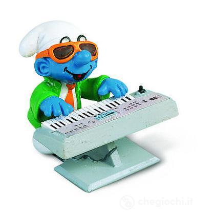 Puffo tastierista (40250)