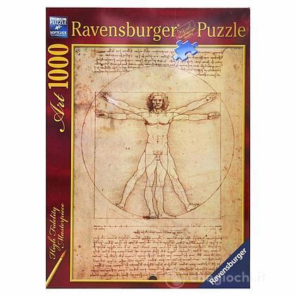 Leonardo da Vinci: L'uomo Vitruviano