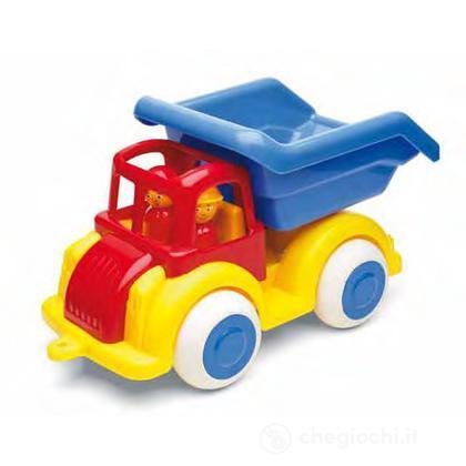 Jumbo camion con  accessori - camion con ribalta con 2 personaggi
