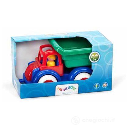 Gift boxes - Jumbo camion ribalta con 2 personaggi