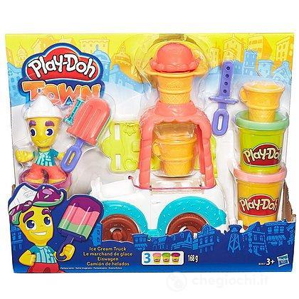 Play-doh Town Il Carretto dei Gelati