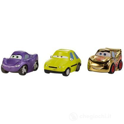 Veicoli Cars 2 micro drifters Gold McQueen, Holley, Acer (W7161)