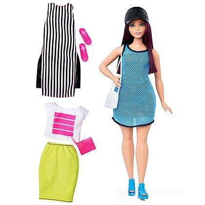 Barbie Fashionistas curvy con abiti (DTF01)