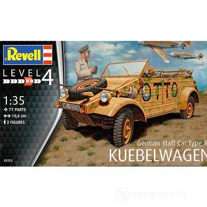 Veicolo German Staff Car Type 82 KUEBEL Belwagen 1/35 (RV03253)