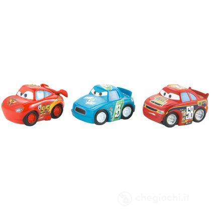 Veicoli Cars 2 micro drifters Saetta McQueen, Octane Gain, Spare O Mint (W7162)