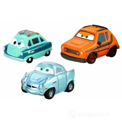 Veicoli Cars 2 micro drifters Grem, Professor Z e Finn McMissile (W7164)