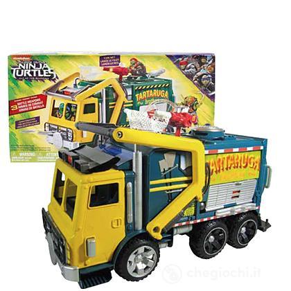 Teenage Mutant Turtles Fuori Dall'Ombra: Camion Battaglia Garbage Truck con Braccia Meccaniche (TUV51110)