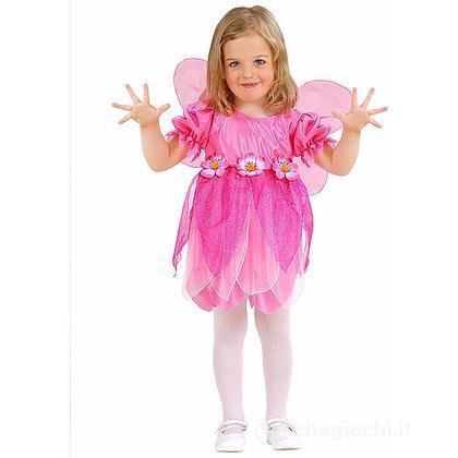 Costume Fatina Dei Fiori Rosa 2-3 anni
