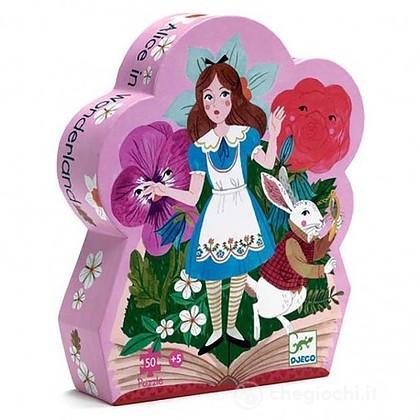 Alice nel paese delle meraviglie. Puzzle 50 pezzi (DJ07260)
