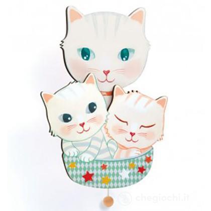 Gatti Carillon da muro - Cats (DJ03261)