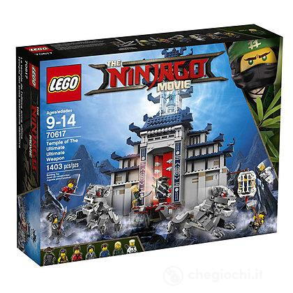 Temple of the Ultimate Ultimate Weapon - Lego Ninjago movie (70617)