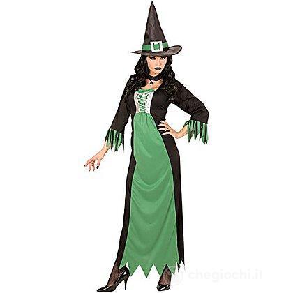 Costume Adulto Strega verde M