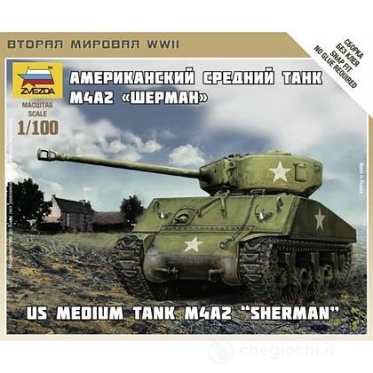 Carro armato Sherman M-4 1/100 (6263)