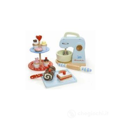 Set del pasticciere/grembiule da bambina (TV264)