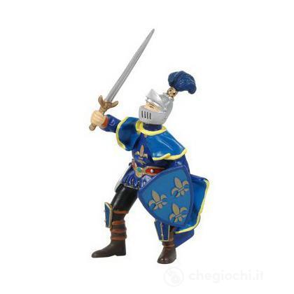 Paladino con piuma blu (39267)