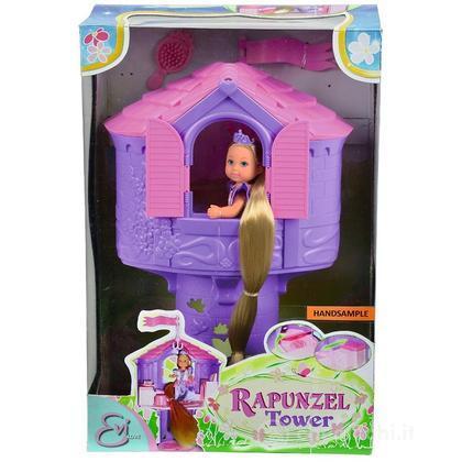 Evi Love Principessa Rapunzel con torre